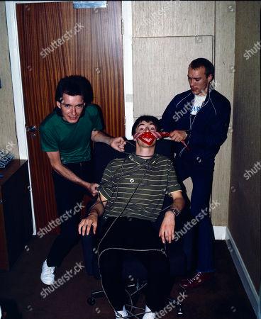 Bruce Foxton, Paul Weller and Rick Buckler - the Jam - 1982
