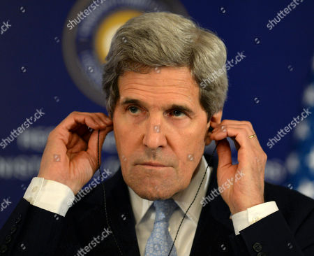 Editorial picture of US Syria Aid Kerry, Istanbul, Turkey - 21 Apr 2013