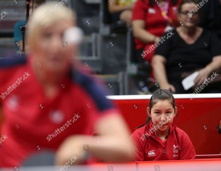 Editorial image of Commonwealth Games Table Tennis, Gold Coast, Australia - 05 Apr 2018