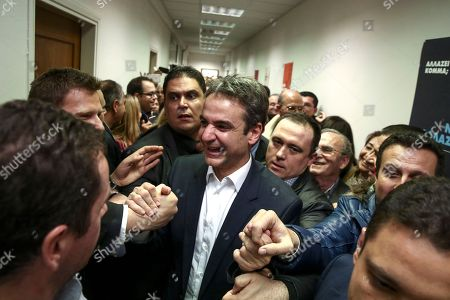 Editorial photo of Opposition Leader, Athens, Greece - 11 Jan 2016