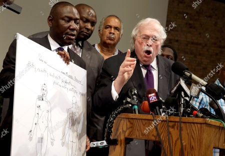 Editorial photo of Police Shooting Missouri Autopsy, St. Louis County, USA - 18 Aug 2014