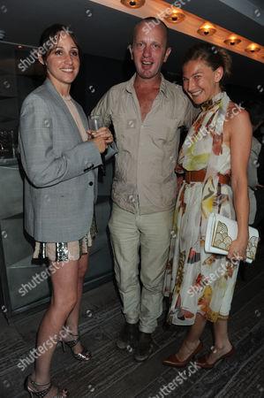Editorial image of Jeff Koons dinner, Centrepoint, London, Britain - 30 Jun 2009