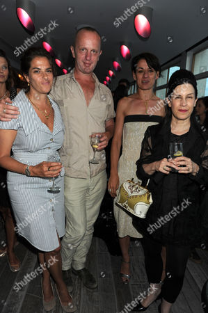 Tracey Emin, Johnny Shand Kydd and guests