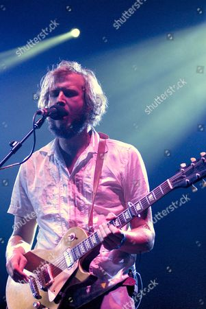 Editorial photo of Bon Iver and Alela Diane in concert at the Serpentine Sessions in Hyde Park, London, Britain - 30 Jun 2009