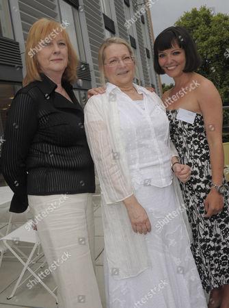 Joan Lane, BSA events director, Susan Ronald, chief executive and Dr Abigail Rokison, chair
