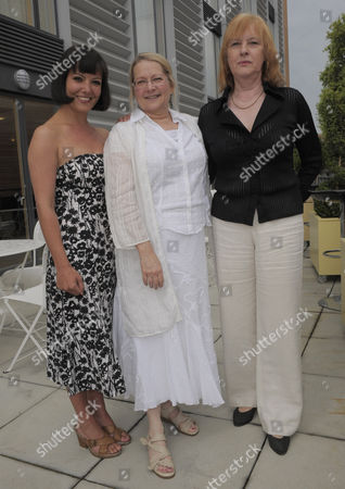 Stock Image of Joan Lane, BSA events director,  Susan Ronald , chief executive and Dr Abigail Rokison, chair