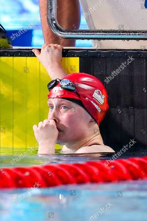 Eleanor Robinson of England wins Gold in the Women's S7 50m Butterfly final.