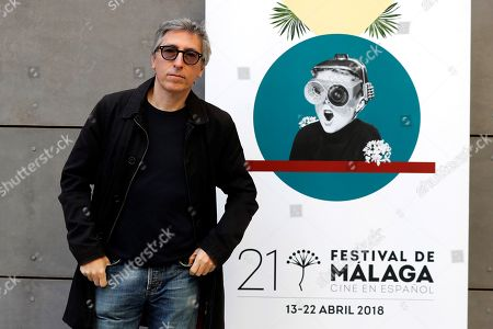 Spanish film director David Trueba poses during the presentation of the 21st Malaga Film Festival, in Madrid, Spain, 05 April 2018. The festival will run from 13 to 22 April.