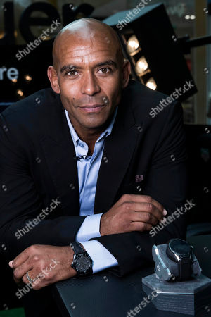 Ex England and West Ham football player Trevor Sinclair