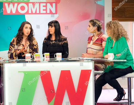 Paula Williamson, Irene Dunroe, Stacey Solomon and Nadia Sawalha