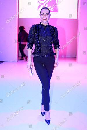 Editorial photo of Celebrities out and about, Fall Winter 2018, Lisbon Fashion Week, Portugal - Mar 2018