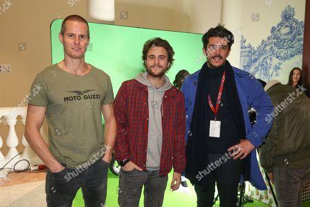 Ricardo Trepa, Tiago Teotonio Pereira and Tiago Froufe.