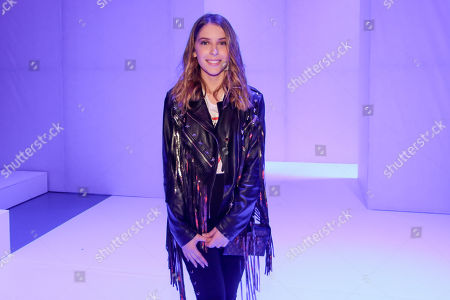 Editorial image of Celebrities out and about, Fall Winter 2018, Lisbon Fashion Week, Portugal - Mar 2018
