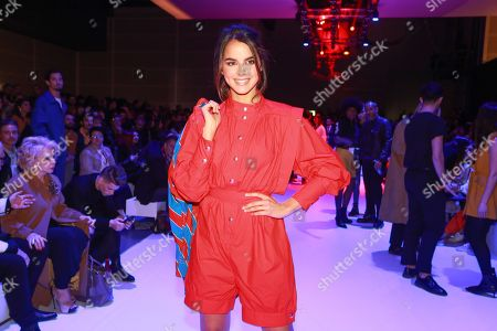 Editorial picture of Celebrities out and about, Fall Winter 2018, Lisbon Fashion Week, Portugal - Mar 2018