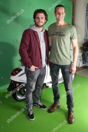 Stock Picture of Tiago Teotonio Pereira and Ricardo Trepa.