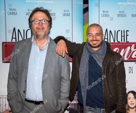 Francesco Bonelli and Nicolas Vaporidis