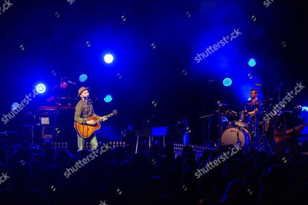 Stock Image of Mat Kearney during the Crazytalk tour
