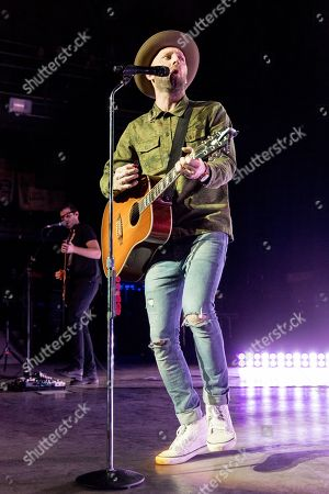 Editorial picture of Mat Kearney in concert, Madison, USA - 07 Mar 2018
