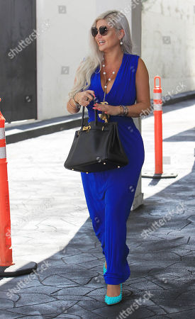 Editorial picture of Sophia Vegas Wollersheim out and about, Los Angeles, USA - 04 Apr 2018