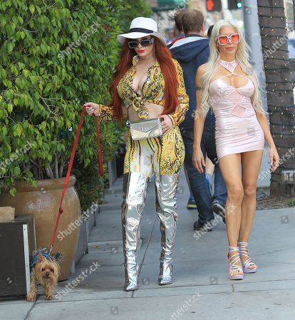 Phoebe Price and Frenchy Morgan