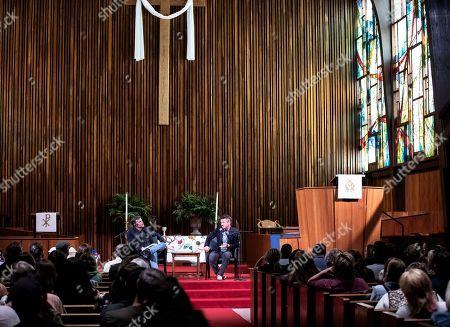 Douglas Brinkley and Sean Penn