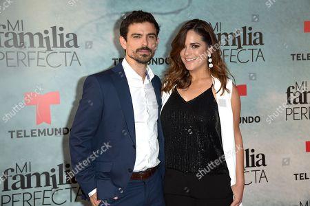 Stock Picture of Jose Luis Moreno, Sabrina Seara