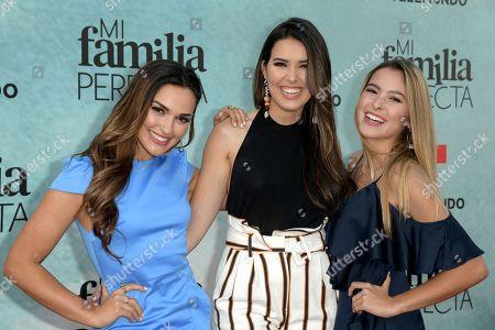 Stock Picture of Estefany Oliveira, Laura Vieira, Ana Wolferman