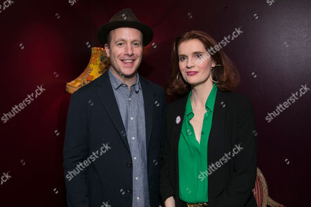 Stock Image of Geoffrey Streatfeild (Mirabel) and Justine Mitchell (Millalant)