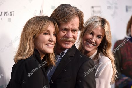 """Felicity Huffman, William H. Macy, Rachel Winter. Felicity Huffman, from left, William H. Macy and Rachel Winter arrive at the Los Angeles premiere of """"Krystal"""" at ArcLight Hollywood on"""