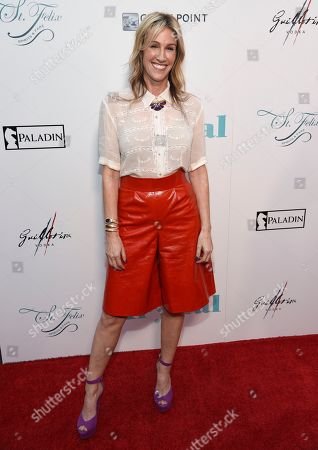"""Rachel Winter arrives at the Los Angeles premiere of """"Krystal"""" at ArcLight Hollywood on"""