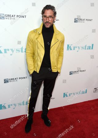 "Robert Sepulveda Jr. arrives at the Los Angeles premiere of ""Krystal"" at ArcLight Hollywood on"