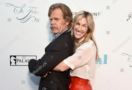 """William H. Macy, Rachel Winter. William H. Macy, left, and Rachel Winter arrive at the Los Angeles premiere of """"Krystal"""" at ArcLight Hollywood on"""
