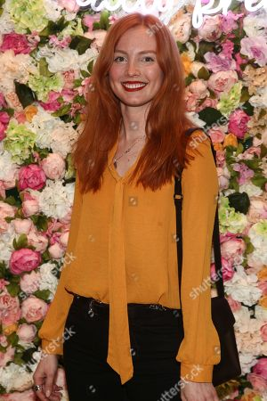 Valeria Leonova attends the Winky Lux Spring collection campaign launch party hosted with Galore Magazine at the Winky Lux Clubhouse, in New York