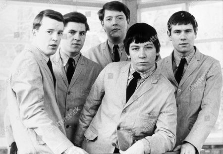 The Animals - John Steel, Alan Price, Chas Chandler, Eric Burdon and Hilton Valentine