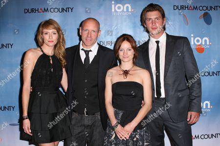 Helene Joy, Hugh Dillon, Laurence Leboeuf and Greyston Holt