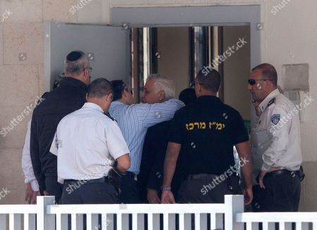 Editorial picture of Mideast Katsav, Ramla, Israel - 7 Dec 2011