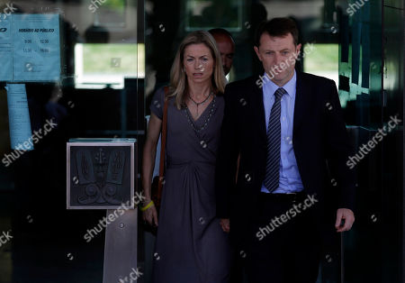 Kate McCann, Gerry McCann. Kate, centre, and Gerry McCann, the parents of the missing British girl Madeleine McCann, leave a court in Lisbon, . The parents of missing British girl Madeleine McCann face an unexpected delay in their libel case against a former Portuguese detective after a Lisbon court granted him 10 days to find a new lawyer. The McCanns are seeking 1.2 million euros ($1.6 million) in damages from Goncalo Amaral, who was part of the police investigation into Madeleine's disappearance from a Portuguese vacation resort in May 2007, days before her fourth birthday