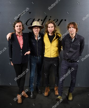 Christian Mazzalai, Laurent Brancowitz, Deck D'arcy and Thomas Mars of Phoenix