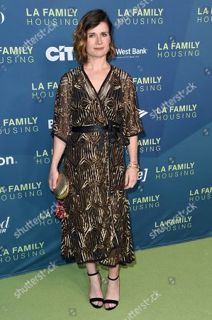 Carrie Lazar attends the 2018 LA Family Housing Awards at The Lot Studios, in West Hollywood, Calif