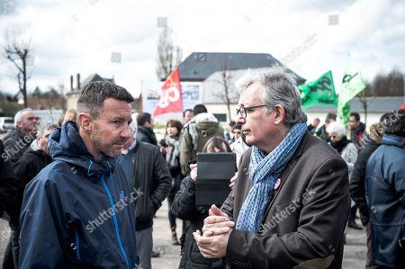 Olivier Besancenot and Pierre Laurent