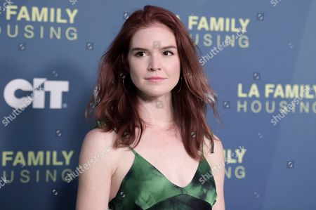 Stock Picture of Emily Tyra attends the 2018 LA Family Housing Awards at The Lot Studios, in West Hollywood, Calif