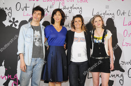 Jeremy Kapone, Sophie Marceau, Director Lisa Azuelos and Christa Theret.