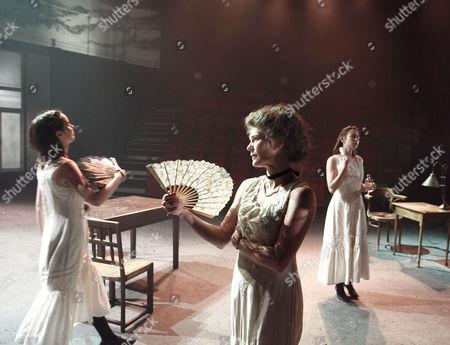 'The House of Special Purpose' - Kate O'Flynn (Anastasia Romanov), Clare Holman (Alix Romanov) and Caroline Martin (Tatiana Romanov)