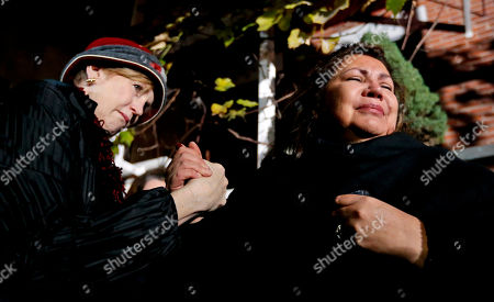 Margaret O'Connor, Priscila Satkoff. Margaret O'Connor, left, consoles Chef Priscila Satkoff during a candlelight memorial for Chicago chef Charlie Trotter outside Trotter's former restaurant, in Chicago. Trotter, 54, died Tuesday, a year after closing his namesake Chicago restaurant that was credited with putting his city at the vanguard of the food world and training dozens of the nation's top chefs, including Grant Achatz and Graham Elliot
