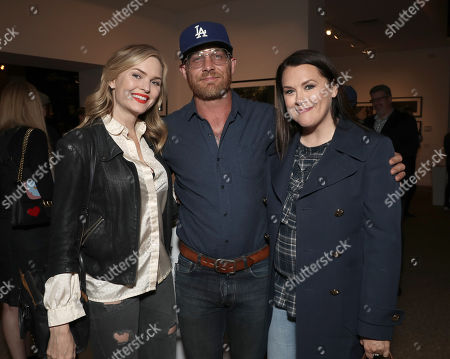 Stock Image of Sunny Mabrey, Art of Elysium's Jennifer Howell and Ethan Embry