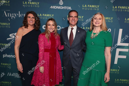 President and CEO, LA Family Housing - Stephanie Klasky-Gamer, President, Worldwide Marketing, Warner Bros. Pictures Group and Warner Bros. Home Entertainment - Blair Rich, Mayor of Los Angeles, Eric Garcetti and Amy Wakeland