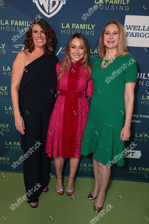Stock Picture of President and CEO, LA Family Housing - Stephanie Klasky-Gamer, President, Worldwide Marketing, Warner Bros. Pictures Group and Warner Bros. Home Entertainment - Blair Rich and Amy Wakeland
