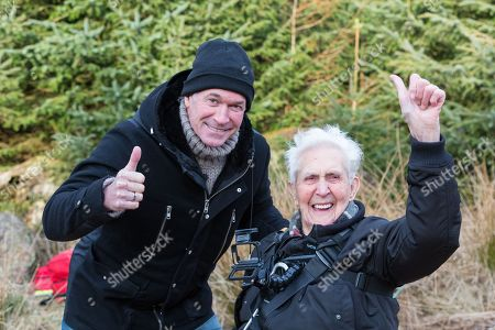 Dr Hillary with Jack Reynolds. Reynolds from Derbyshire, celebrated his 106th birthday, by taking a ride on the 197ft (60m) high, 1,312ft (400m) long zip wire live on ITV's Good Morning Britain to raise money for the Stroke Association. The stunt earned Reynolds a Guiness World Record