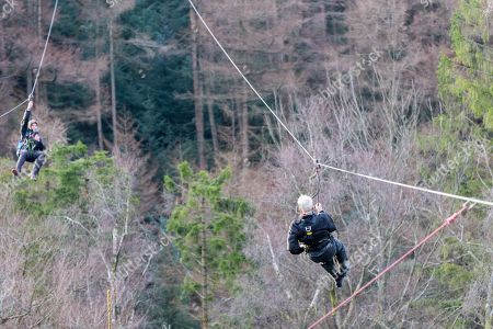 Jack Reynolds, from Derbyshire, celebrated his 106th birthday, by taking a ride on the 197ft (60m) high, 1,312ft (400m) long zip wire live on ITV's Good Morning Britain to raise money for the Stroke Association. The stunt earned Reynolds a Guiness World Record