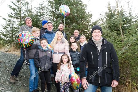Stock Image of Jack Reynolds, from Derbyshire, celebrated his 106th birthday, by taking a ride on the 197ft (60m) high, 1,312ft (400m) long zip wire live on ITV's Good Morning Britain to raise money for the Stroke Association. The stunt earned Reynolds a Guiness World Record